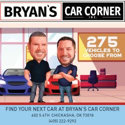 Bryan's Car Corner 250